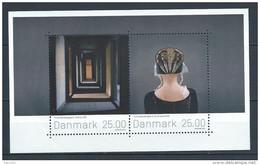 Danemark 2016 Bloc Neuf Art Du Timbre