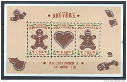 Danemark 2015 Bloc Neuf Biscuits Danois