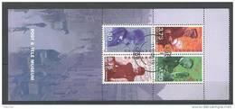 Danemark 1998 Bloc Feuillet Oblitéré Issu Du Carnet C1187 Musée De La Poste (1)