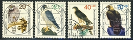 "1973 Berlin Complete VF Used Set Of 4 Semi Postal Stamps "" Birds Of Prey"", Michel # 442-445 - [5] Berlin"