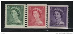 Canada Scott # 331-33  MNH