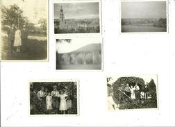 Virelles  1938 ( 6 Photos Prises Lors D'un Séjour Dans La Région - L'ensemble Tient Sur Un A4 ) - Chimay