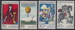 CZECHOSLOVAKIA: Yvert 1962-65 – Graphic Art - MNH ** (1973) - Czechoslovakia