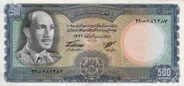 * AFGHANISTAN 500 AFGHANIS 1346 (1967) P-45 UNC  [AF328a] - Afghanistan