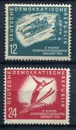 28719) DDR # 280-81 Postfrisch Aus 1951, 20.- € - DDR