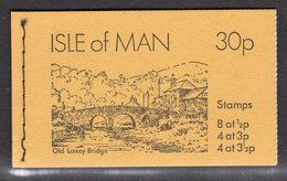 GB ISLE OF MAN IOM - 1974 30p OLD LAXEY BRIDGE STITCHED BOOKLET COMPLETE SG SB5 MNH ** - Isle Of Man