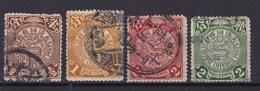 CHINA 1898-1910 - Oblitérés