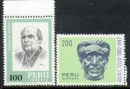 PERU-Mi. 1226-27-M N H -Serie Completa -PER-7099 - Peru