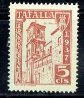TAFALLA  Beneficencia 1937  5 Cts (*) - Spanish Civil War Labels