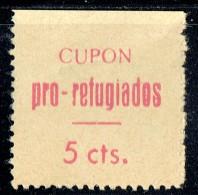 LORCA  Cupon Pro-refugiados 5 Cts (*) - Viñetas De La Guerra Civil