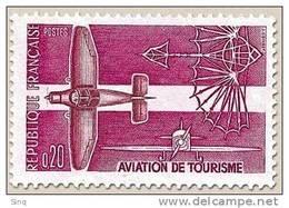 N° 1341 Aviation De Tourisme Faciale 0,20 F - Ungebraucht