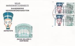 Germany FDC 1993   Sehenswürdigkeiten (G62-38) - FDC: Fogli