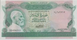 LIBYA P. 46a 10 D 1980 AUNC - Libya