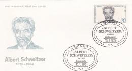 Germany FDC 1975 Albert Schweizer (G62-38)