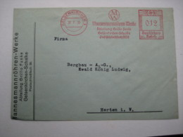 Firmen Freistempel , Meterstempel Auf Beleg Aus   1936  Gelsenkirchen     Etwas Verkürzt - Covers & Documents