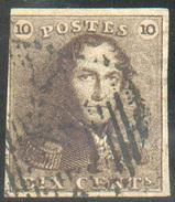N°1 - Epaulette 10 Centimes Brun-ROUX- 11618 - 1849 Epaulettes