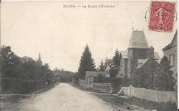 Carte Postale Ancienne De Ranes La Route D'Ecouché - France