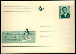 Belgien Belgium - Briefkarte - Briefmarken Abo - Ein Neuausgaben-Abo, Die Garantie Für Ihre Sammlung