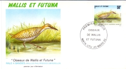 Wallis Et Futuna -  Vögel / Birds 1993 (FDC) - Usados