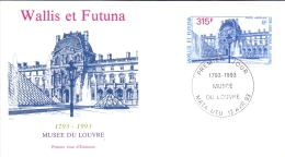 Wallis Et Futuna -  Louvre 1993 (FDC) - Used Stamps