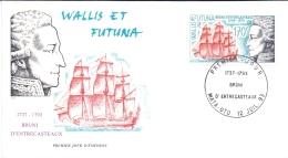 Wallis Et Futuna -  Antoine Raymond Joseph De Bruni 1993 (FDC) - Used Stamps