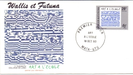 Wallis Et Futuna -  Frz. Revolution 1993 (FDC) - Used Stamps