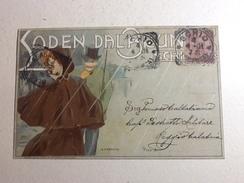 66083) Rarissima-cartollina Pubblicitaria -loden Dal Brun -illustrata Da M. Dudovich - Illustratori & Fotografie