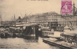 CPA ROUEN 76 - Quai De La Bourse - Rouen