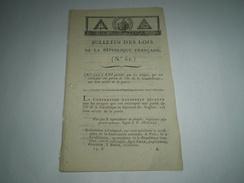 Lois An 2:Troupes Qui Ont Reconquis La Guadeloupe.Restitution Landrecies,Quesnoy,Valenciennnes,Nord Libre.Certif.Civisme