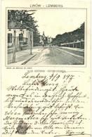 T4 1897 (Vorläufer!) Lviv, Lwów, Lemberg; Ulica Kopernika, Naklad. Jan Bromilski / Kopernikusgasse /... - Unclassified