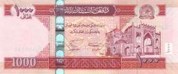 * AFGHANISTAN 1000 AFGHANIS 1387 (2008) P-77a UNC  [AF361a] - Afghanistan