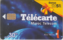 MAROC - PHONE CARD - TELECARTE      ***  TELECOM - 30 Dh  *** - Maroc