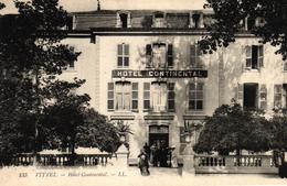 VITTEL -88- HOTEL CONTINENTAL - Vittel Contrexeville