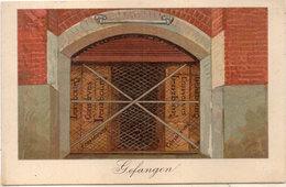 GEFANGEN - Conserves Lenzbourg  -  (94933) - Publicité