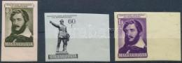 ** 1952 Kossuth Lajos (II.) Vágott ívszéli Sor (9.000) - Stamps