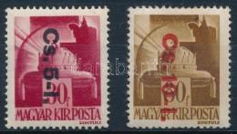 ** 1946 Betűs Visszavont Csomagpár (14.000) - Stamps