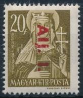 ** 1946 Betűs Alj.I./20f Tévnyomat (10.000) / Mi 857 Error Alj For Ajl - Stamps