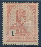 * 1906 Turul 1 K (14.000) - Stamps