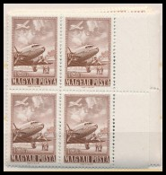 ** 1950 RepülÅ' ívszéli Négyestömbök (14.000) - Stamps