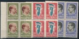 ** 1947 30 éves A Szovjetunió Sor 4-es Tömbökben (10.000) - Stamps