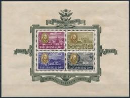 ** 1947 Roosevelt Légiposta Blokk (25.000) (foltok, Ráncok/ Stain, Creases) - Stamps