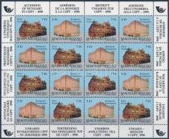 ** 1991 Magyarország Csatlakozása A CEPT-hez ív (20.000) - Stamps