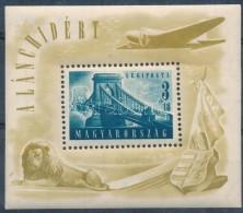 ** 1948 Lánchíd (II.) Blokk (25.000) - Stamps
