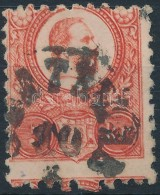 O 1871 Réznyomat 5kr Képbe Fogazva, Nagyon Ritka Szín! - Stamps