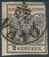 O 1850 2kr MP Jobb Oldalon Bevágva ,,OFEN' (20.000) - Stamps