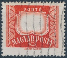 O 1958 Portó Bélyeg értékszám Nélkül - Stamps