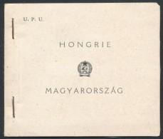 ** 1949 UPU Bélyegfüzet 2 Szélén Vágott (36.000) - Stamps