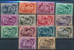 ** 1950 5 éves Terv (I.) Sor (30.000) - Stamps