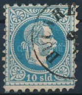 O Magyar Posta Romániában 1867 10sdl 'BUCARE(ST)' - Stamps