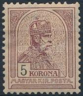 * 1900 Turul 5K (30.000) - Stamps